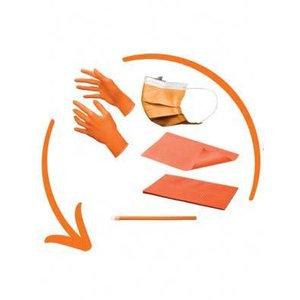 Disposables pakket excl. hoofdsteunzakken oranje