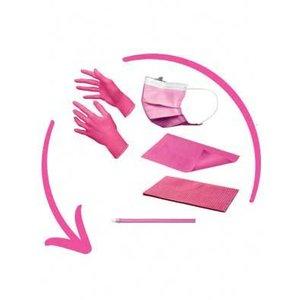 Disposables pakket excl. hoofdsteunzakken fuchsia