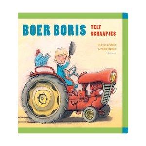 Boer Boris telt schaapjes