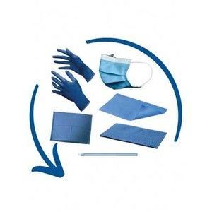 Disposables pakket midden blauw