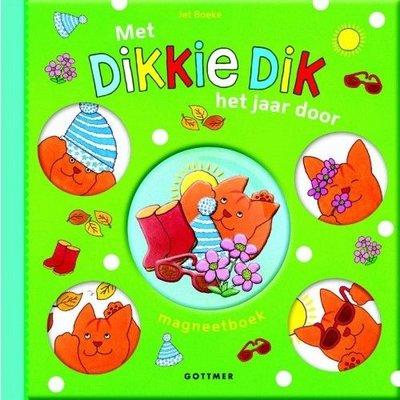 Met Dikkie Dik het jaar door magneetboek