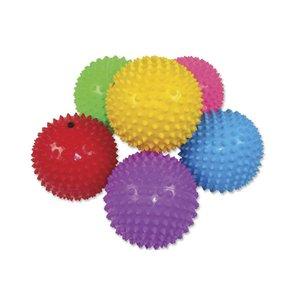Spikey balls (opgeblazen) ( Voorraad 25 stuks OP=OP)