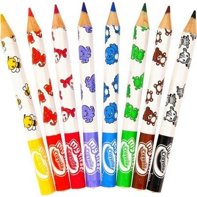 Crayola Dikke kleurpotloden met dierenprint.