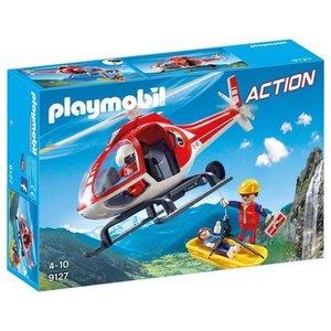 Playmobil Reddingswerkers met helikopter Playmobil 9127