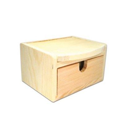 Kaptafeltje van hout ( nog 3 op voorraad )