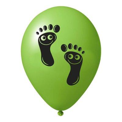 Ballon Funny Feet (100 stuks)