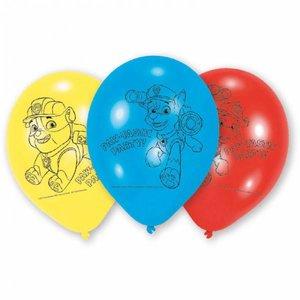 Ballonnen paw patrol