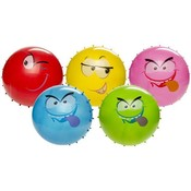 Noppenbal grappige gezichten