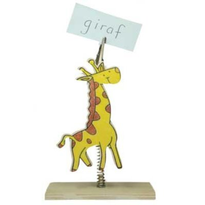 Memohouder giraf ( Voorraad: 22 stuks OP=OP)