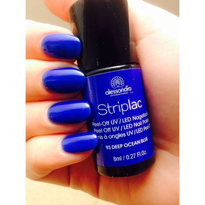 Alessandro Striplac 193 Deep Ocean Blue