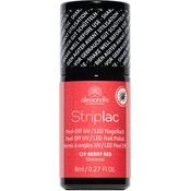 Alessandro Striplac 129 Berry Red Shimmer