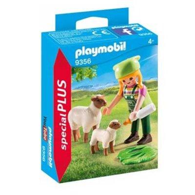 Playmobil Plus 9356 Geitenhoedster ( Voorraad: 1 stuks OP=OP)