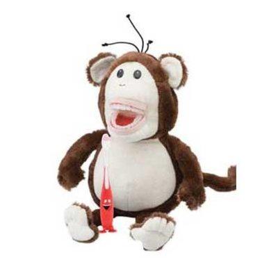 Poetspop klein Mo de aap
