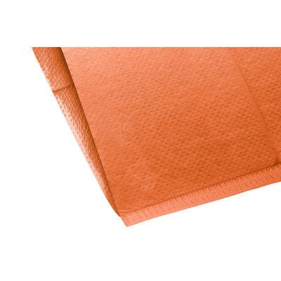 Hoofdsteunzakken oranje, 25 x 33 cm