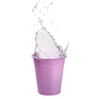 Drinkcups plastic lavendel 180 ml