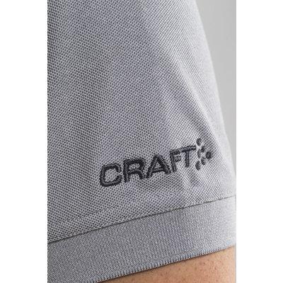 Craft Craft poloshirt piqué grey melange