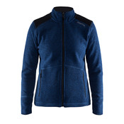 Craft Craft Noble Zip Jacket Heavy Knit fleece deep blue