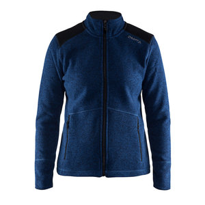 Craft Craft Noble Zip Jacket Heavy Knit fleece deep blue