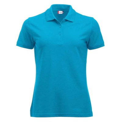 Clique Clique Manhattan damespolo turquoise