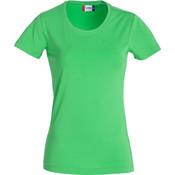Clique Clique Carolina Basic shirt korte mouw appelgroen