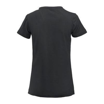 Clique Clique Carolina Basic shirt korte mouw zwart