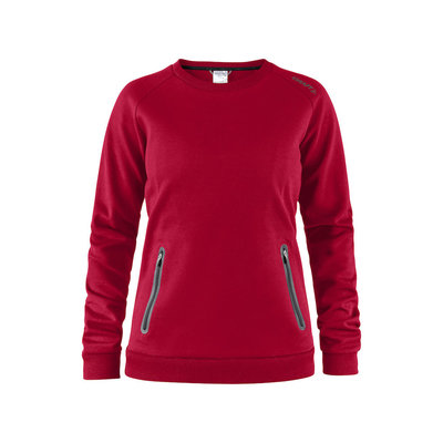 Craft Craft Emotion Crew Sweatshirt bright red