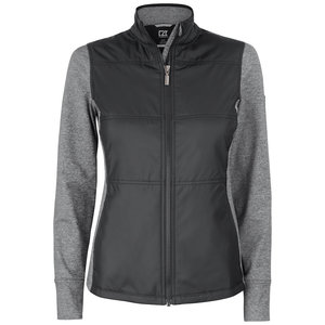 Cutter & Buck Stealth Jacket dames zwart/grijs