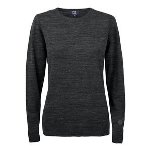 Cutter & Buck Eatonville sweater dames antraciet melange
