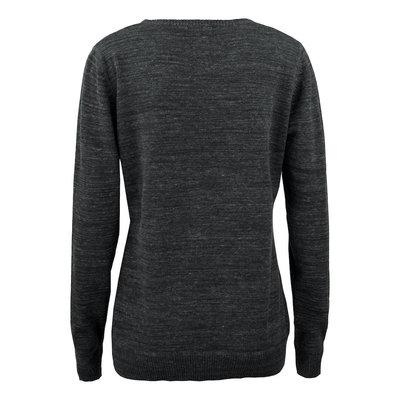 Cutter & Buck Eatonville sweater dames antraciet melange