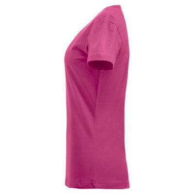 Clique Clique Carolina Basic shirt korte mouw helder kersen