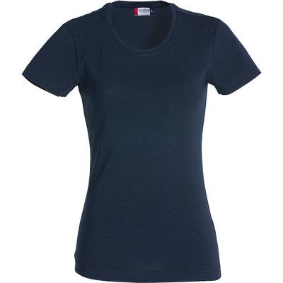 Clique Clique Carolina Basic shirt korte mouw dark navy