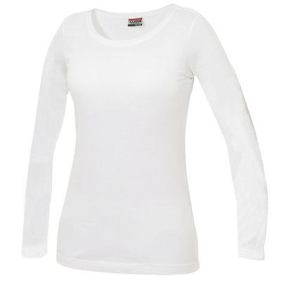 Clique Clique Carolina Basic shirt lange mouw wit