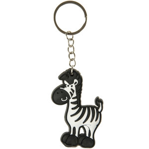 Sleutelhanger zebra