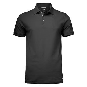 Cutter & Buck C&B Advantage herenpolo black