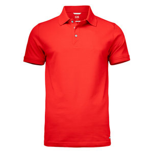 Cutter & Buck C&B Advantage herenpolo rood