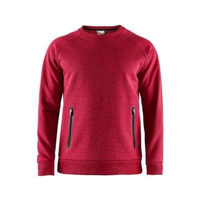 Craft Craft Emotion Crew Sweatshirt bright red heren