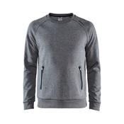 Craft Craft Emotion Crew Sweatshirt dark grey melange heren