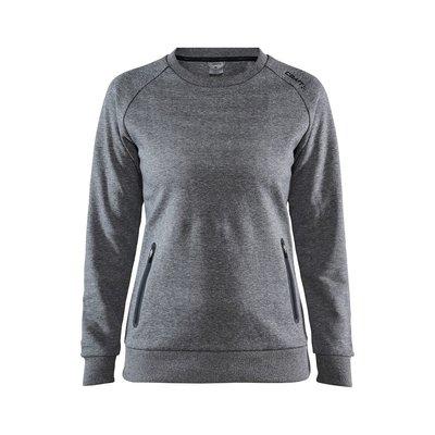 Craft Emotion Crew Sweatshirt dark grey melange