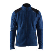 Craft Craft Noble Zip Jacket Heavy Knit fleece deep blue heren