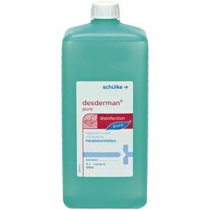 Schülke Schülke Desderman Pure 1 liter handdesinfectie eurofles (geschikt voor KHL dispenser)