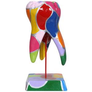 Sculptuur Molaar Mozaïek