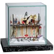 Kunst vitrine supermini 'Werk in Uitvoering'