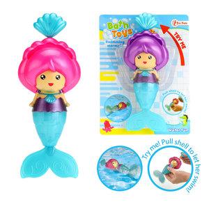 Zwemmende zeemeermin