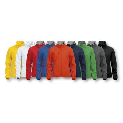 Clique Clique Basic Softshell damesjack diverse kleuren