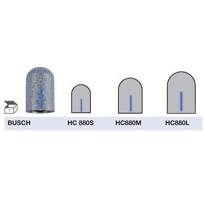 Busch HYBRIDCAP Slijpkappen middelgrof HC880