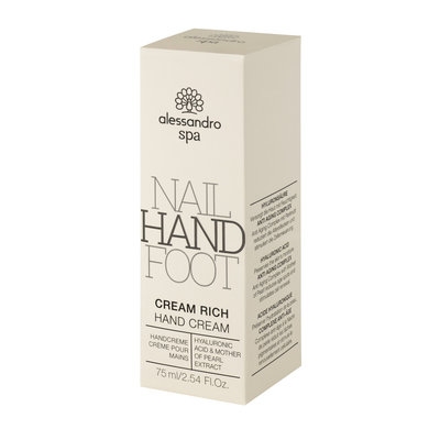 Alessandro Cream Rich Hand Cream 75 ml