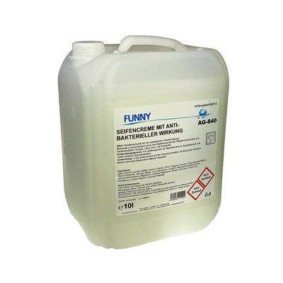 Zeepcrème anti-bacterieel 10 liter