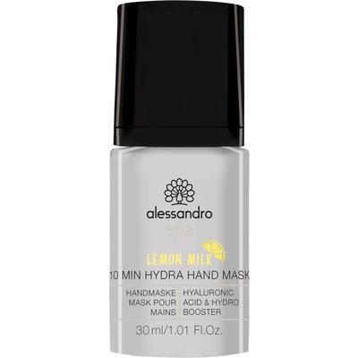 Alessandro 10 Minute Hydra Hand Mask Lemon 30 ml