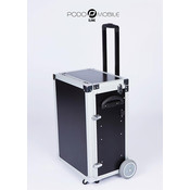 Maxi Pedicure Trolley Brush Black