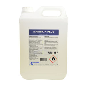Reymerink Maniskin alcoholgel handdesinfectie, 5 liter